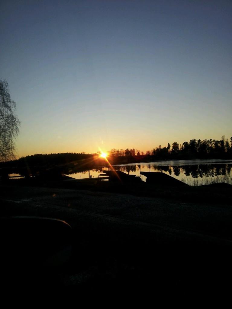 Julafton 2013. Kristinehamns Skärgård.